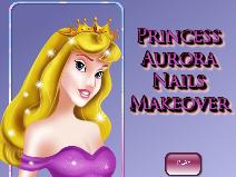 Princess Aurora Nails Makeover