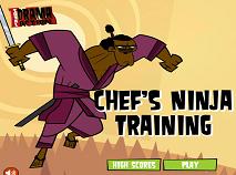 Actiune: Drama Totala - Antrenamentul Ninja al Bucatarului