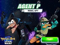 Agent P Spion Rebel in Spatiu