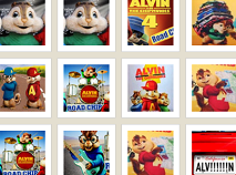 Alvin and the Chipmunks Road Chip Memory Game