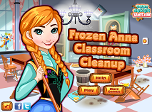Frozen Anna Classroom Cleanup