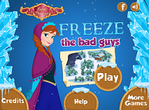 Anna Freeze the Bad Guys