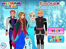 Ana si Elsa Primul Ajutor