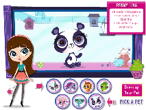 Littlest Pet Shop : Dress up