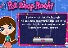 Littlest Pet Shop Rock