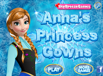 Anna's Princess Gowns