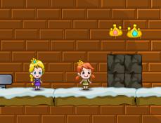 Anna si Elsa si Coronitele Inghetate