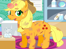 Apple Jack Pony Feet Doctor