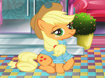 Applejack Garden Decor