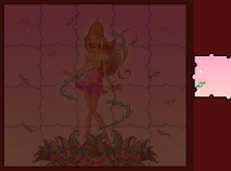 Sort My Tiles Winx Club Flora