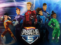 Batle Force 5 Battlekey Wars