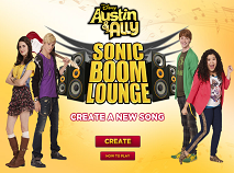Austin and Ally Sonic Boom Lounge