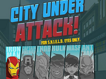 Avengers City Under Attack