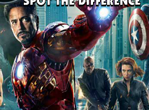 Avengers Spot The Difference