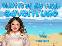 Violetta at the Beach Adventure