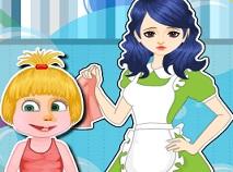 Babysitter pentru Masha Curata Camera