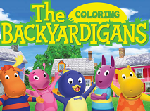 The Backygardians Coloring