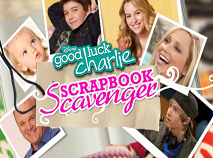 Good Luck Charlie Scrapbook Scavanger