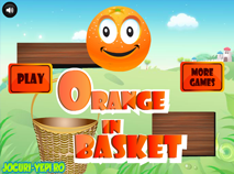 Orange in Basket