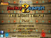 Baiatul Foc si Fata Apa in Templul Luminii