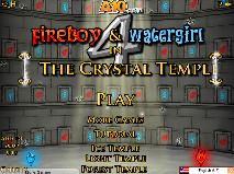 Baiatul Foc si Fata Apa in Templul de Cristal