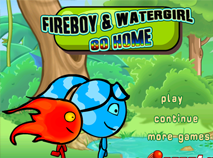 Fireboy and Watergirl Go Home