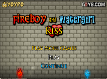 Fireboy and Watergirl Kissing