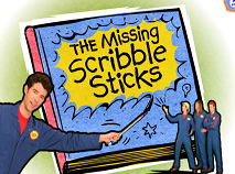 Imagination Movers - The Missing Scribbly Sticks