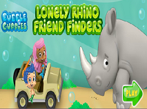 Bubble Guppies Lonely Rhino Friend Finders