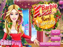 Barbie Frizuri Trasnite de Craciun