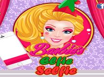 Barbie Selfie cu un Elf