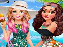 Barbie in Vizita la Moana