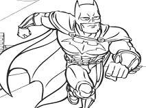 Batman Coloring