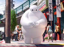 Baymax in Sanfransokyo Puzzle