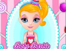Bebelusa Barbie in Magazinul cu Dulciuri