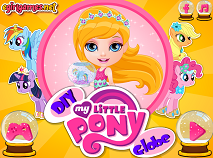 Bebelusa Barbie si Globul My Little Pony