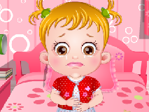 Bebelusa Hazel Bolnava