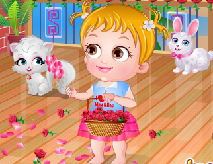 Baby Hazel Valentine`s Day
