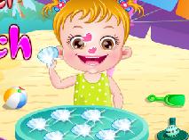 Bebelusa Hazel la Plaja