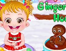 Bebelusa Hazel si Casa din Turta Dulce