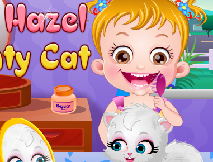 Bebelusa Hazel si Pisica Obraznica