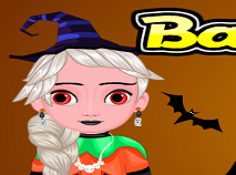 Bebelusul Elsa Makeup de Halloween