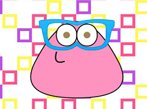 Baby Pou With Glasses