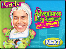 The Adventures of Baby Spencer: Mall Escape