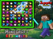 Bejeweled cu Minecraft