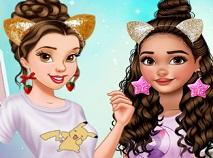 Belle si Moana Aniversarea Prieteniei
