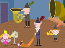 Ben and Holly The Elf Band