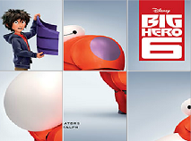 Big Hero 6 Sliding Puzzle