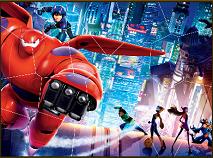 Big Hero 6 Puzzle Mania