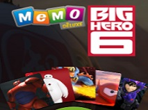 Big Hero 6 de Memorie Deluxe
